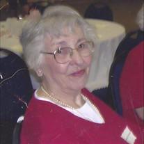 Margaret Frances Tinsley Voorhees