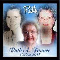 Ruth A. Faunce