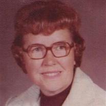 Mrs. Florence Jane Lochmiller