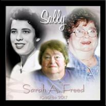 """Sarah A. """"Sally"""" Freed"""