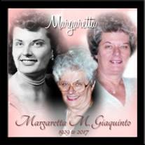 Margaretta M. Giaquinto