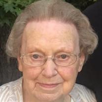 """Mrs. Dorothy """"Dot"""" Louise Anthony Hayes"""