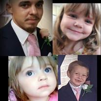 Nate Raugh and his children, James, Missy and Jordan