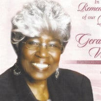 Ms. Geraldine Walker