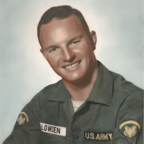 SFC James W. Lowden, Jr. (US Army Ret.)