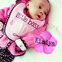Baby Girl Kimiya Sumpter-Williams