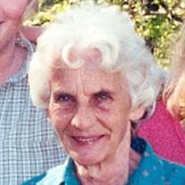 Mrs. Frances Madelene Sawyers Moxley