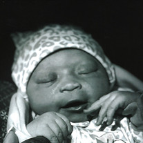 Baby Girl Aubree Nychel Burnett-Evans