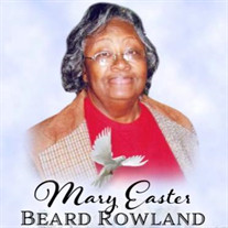 Mrs. Mary Easter Rowland