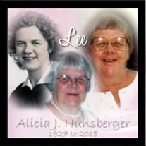 "Alicia J. ""Lee"" Hunsberger"
