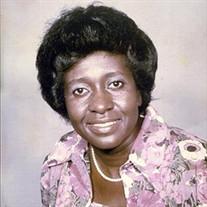 Mrs. Margaret Mariie Patterson-Pride