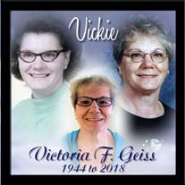 Victoria F. Geiss