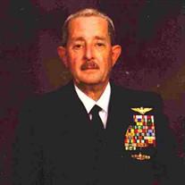 Commander George G. Ricabaugh (Retired)