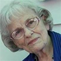 Mrs. Esther D. Scherzer