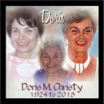 Doris M. Christy
