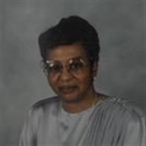 Mrs Beulah Juanita Dunbar Sledge