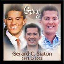 "Gerard ""Gerry"" Siaton"