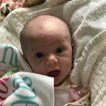 Infant Adeline Marie Baysinger