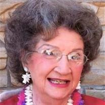 """Elizabeth Ann """"Betsy""""  Warner"""