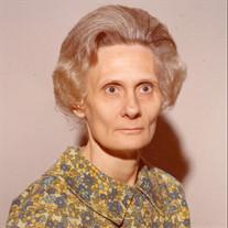 Gladys Tidwell Hosea