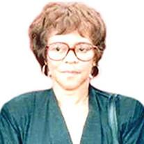 Mrs. Annie Olivia Bishop