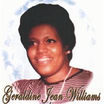 Geraldine Jean Williams