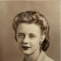 Valencia Blanche Robertson