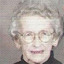 Margaret Almeda (Kunkle) Myers