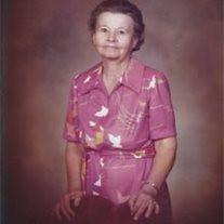 """Mrs. Delia Mae  """"Sis"""" Hudspeth"""