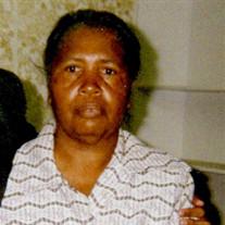 Mrs. Josie Mae Jones