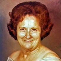 Mrs. Gladys Marie ThroneberryAdcock Burrow