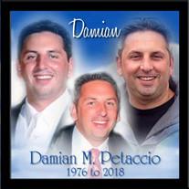 Damian M. Petaccio