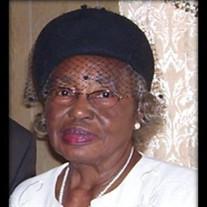 Mrs. Willie Mae Brown- Hughes
