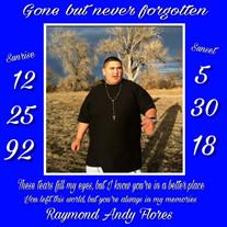 Raymond Robert Andrew Flores Jr.