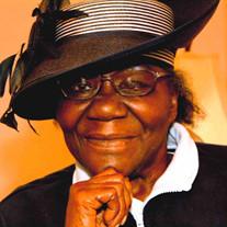 """Jannie """"Auntie"""" Mae Washington"""