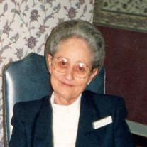 "Martha ""Aunt Mark"" Inez Shedd"