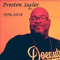 Preston Samuel Sayles