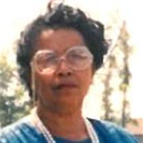 """Mrs. Earthlee """"Floss"""" Kinloch"""