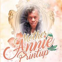Annie F. Printup